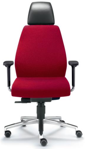 dauphin 24 stunden leitstandstuhl leder m nackenst tze. Black Bedroom Furniture Sets. Home Design Ideas