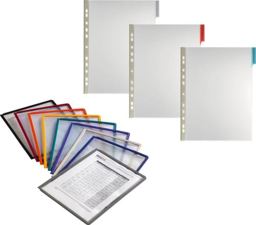 Durable Sichttafel Din A4 Pp Oder Pvc In Verschiedenen Farben Udobär