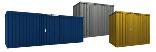 gro raum materialcontainer mit holzboden und doppelfl gelt r in verschiedenen gr en und farben. Black Bedroom Furniture Sets. Home Design Ideas