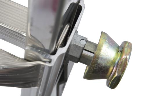 Krause sprossen gelenk teleskopleiter alu 4tlg mit 4x4 oder 4x5
