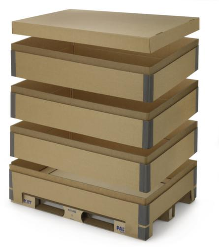 Paletten Aufsatzrahmen Aus Pappe Einzelne Elemente Lxb 1220x820 Mm