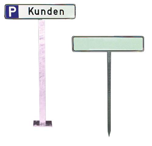Pfosten Fur Parkplatzschild H 750 Mm Verzinkt Zum Einschlagen Oder