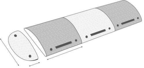 richtstange f r fahrbahnschwelle f r geschwindigkeiten. Black Bedroom Furniture Sets. Home Design Ideas