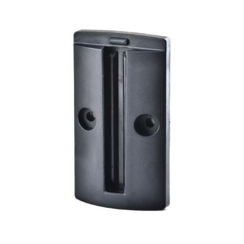 wandclip f wandgurtbefestigung magnetisch schwarz udob r. Black Bedroom Furniture Sets. Home Design Ideas